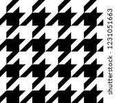 glen plaid pattern in classic... | Shutterstock .eps vector #1231051663