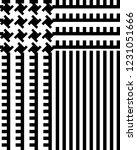 glen plaid pattern in classic... | Shutterstock .eps vector #1231051666