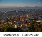 bird's eye view of san miguel... | Shutterstock . vector #1231093930