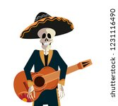 day of the dead concept | Shutterstock .eps vector #1231116490