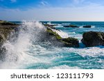 Waves Of The Pacific Ocean...
