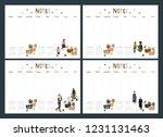 set of flat style  vector...   Shutterstock .eps vector #1231131463