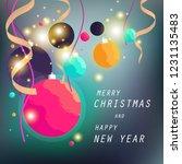 christmas day background | Shutterstock .eps vector #1231135483