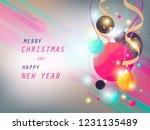 christmas day background | Shutterstock .eps vector #1231135489