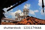 mexican swiss is a little town... | Shutterstock . vector #1231174666