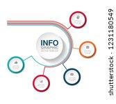 vector infographic template for ...   Shutterstock .eps vector #1231180549