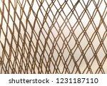 textured fishing net background | Shutterstock . vector #1231187110