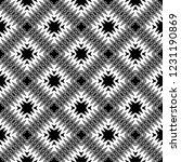 seamless geometric pattern.... | Shutterstock .eps vector #1231190869
