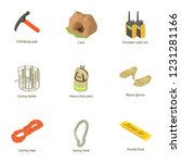 produce mineral icons set.... | Shutterstock .eps vector #1231281166
