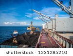 coal transfer from vessel to a...   Shutterstock . vector #1231285210