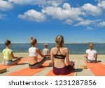 Group Young Woman's Yoga...