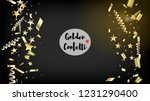 modern magic glitter confetti ... | Shutterstock .eps vector #1231290400