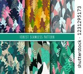 forest and nature seamless...   Shutterstock .eps vector #1231295173