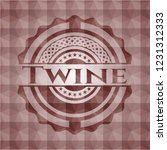 twine red seamless emblem with...   Shutterstock .eps vector #1231312333