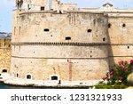 aragonese castle of taranto and ... | Shutterstock . vector #1231321933