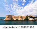 aragonese castle of taranto and ... | Shutterstock . vector #1231321936