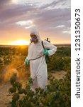 weed control. industrial... | Shutterstock . vector #1231350673