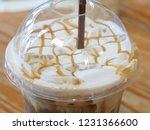 ice caramel macchiato in the... | Shutterstock . vector #1231366600
