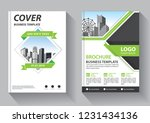brochure template layout  cover ... | Shutterstock .eps vector #1231434136