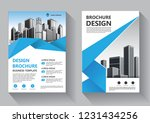 brochure template layout  cover ... | Shutterstock .eps vector #1231434256