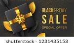 black friday sale poster or...   Shutterstock .eps vector #1231435153