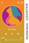 music player interface ui...