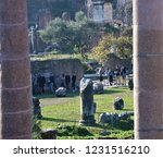 columns of the most famous...   Shutterstock . vector #1231516210