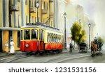 Old City. Digital Art  Oil...