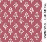 seamless decorative vector... | Shutterstock .eps vector #1231531453