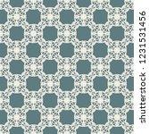 seamless decorative vector... | Shutterstock .eps vector #1231531456