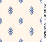 seamless decorative vector... | Shutterstock .eps vector #1231531459