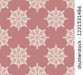 seamless decorative vector... | Shutterstock .eps vector #1231531486