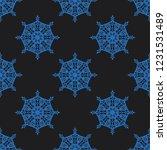 seamless decorative vector... | Shutterstock .eps vector #1231531489