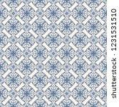 seamless decorative vector... | Shutterstock .eps vector #1231531510