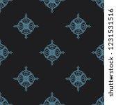 seamless decorative vector... | Shutterstock .eps vector #1231531516