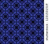 seamless decorative vector... | Shutterstock .eps vector #1231531519