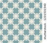 seamless decorative vector... | Shutterstock .eps vector #1231531540