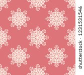 seamless decorative vector... | Shutterstock .eps vector #1231531546
