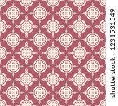 seamless decorative vector... | Shutterstock .eps vector #1231531549