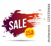 banner discount sale 15 percen...   Shutterstock .eps vector #1231534666