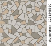 stone seamless texture. stone... | Shutterstock .eps vector #1231548910