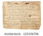 Antique Handwriting  Isolate...