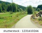 road in the village  schwarzwald   Shutterstock . vector #1231610266