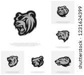Collection Of Bear Logo Design...