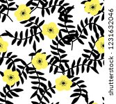 bright seamless pattern with...   Shutterstock .eps vector #1231632046