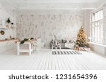 loft style apartment  large... | Shutterstock . vector #1231654396
