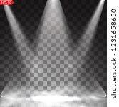 scene illumination  transparent ... | Shutterstock .eps vector #1231658650