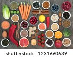 super food to slow the ageing... | Shutterstock . vector #1231660639