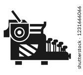 typewriter icon. simple... | Shutterstock .eps vector #1231666066