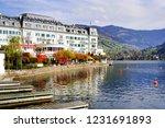 zell am see  austria   may 20 ... | Shutterstock . vector #1231691893